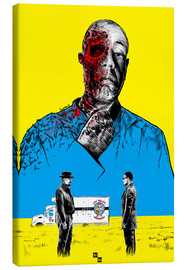 Lienzo  Breaking Bad Gus Fring death whit blood - Paola Morpheus