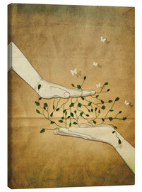 Lienzo  Let's grow together - Sybille Sterk
