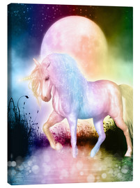 Lienzo  Unicorn - Love yourself - Dolphins DreamDesign