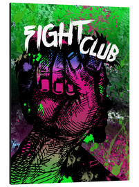 Cuadro de aluminio  Fight Club - Minimal alternative Film Fanart #2 - HDMI2K