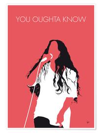 Póster Alanis Morissette - You Oughta Know