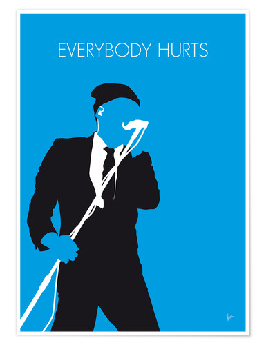 Póster R.E.M. - Everybody Hurts
