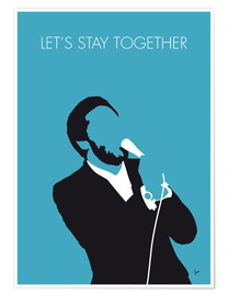 Póster Al Green - Let's Stay Together