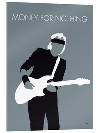 Cuadro de metacrilato  Mark Knopfler, Money for nothing - chungkong