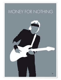 Póster Mark Knopfler, Money for nothing
