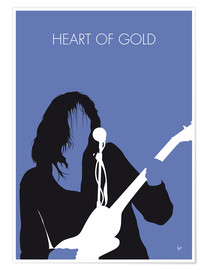 Póster Neil Young - Heart Of Gold