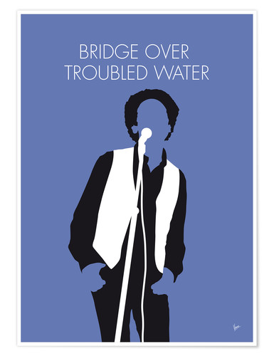 Póster Simon & Garfunkel - Bridge Over Troubled Water