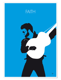 Póster George Michael, Faith