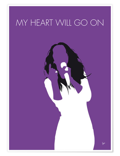 Póster Celine Dion - My Heart Will Go On