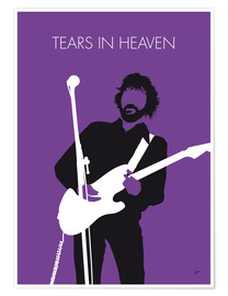Póster Eric Clapton - Tears In Heaven