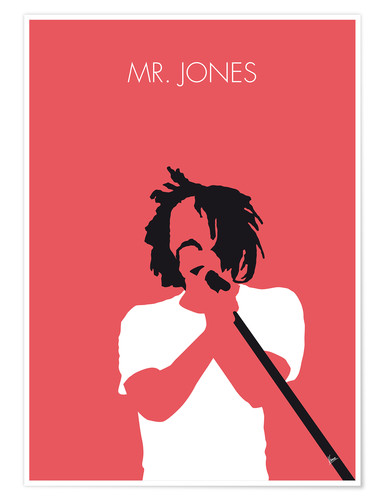 Póster Counting Crows - Mr. Jones