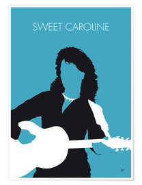 Póster Neil Diamond - Sweet Caroline