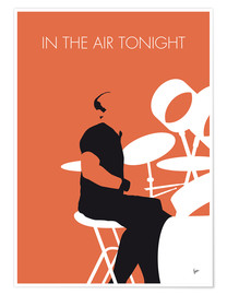 Póster Phil Collins, In the air tonight