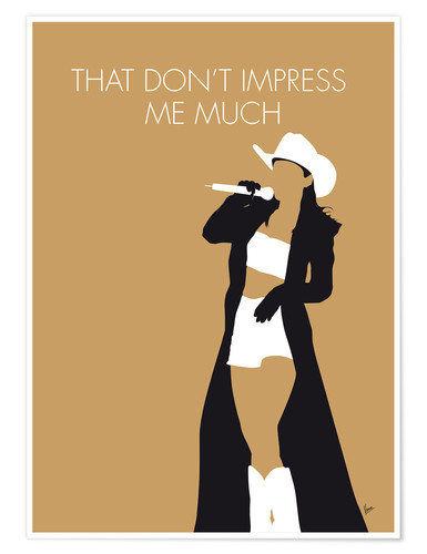 Póster Shania Twain - That Don't Impress Me Much