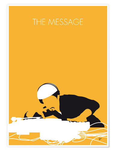 Póster Grandmaster Flash - The Message