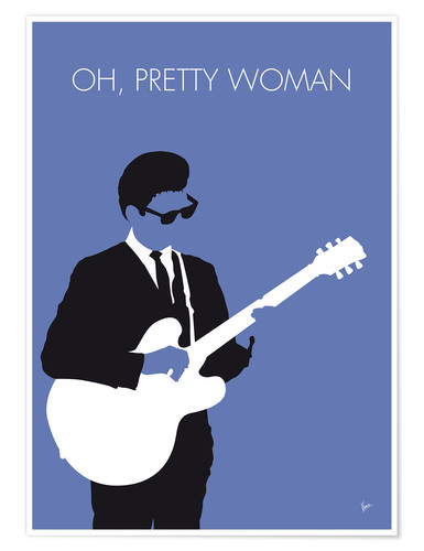 Póster Roy Orbison - Oh, Pretty Woman