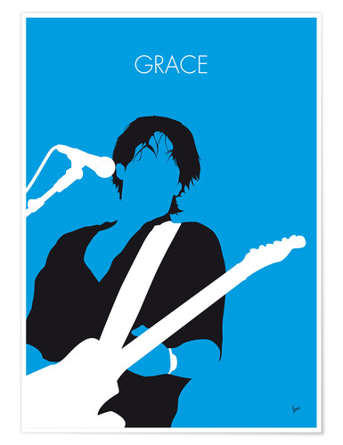 Póster Jeff Buckley - Grace