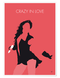 Póster Beyoncé - Crazy In Love