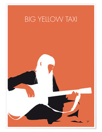 Póster Joni Mitchell - Big Yellow Taxi