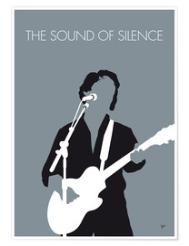 Póster Paul Simon - The Sound Of Silence