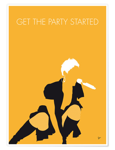 Póster Pink - Get The Party Started