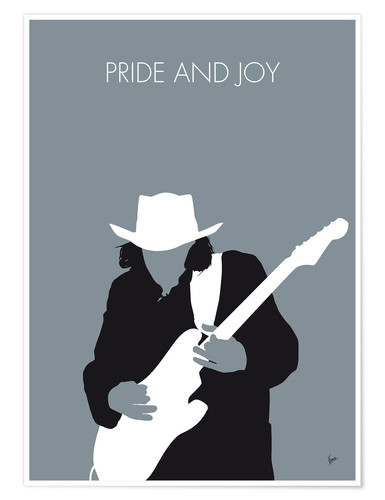 Póster Stevie Ray Vaughan - Pride And Joy