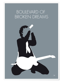 Póster Green Day, Boulevard of broken dreams