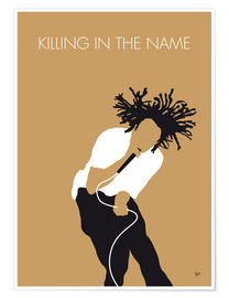 Póster Rage Against the Machine, Killing in the name
