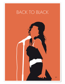 Póster Amy Winehouse, Back to black
