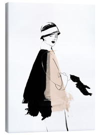 Lienzo  20s Fashion Illustration - Wadim Petunin