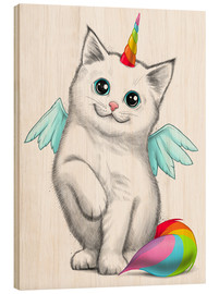 Madera  Cat unicorn - Nikita Korenkov