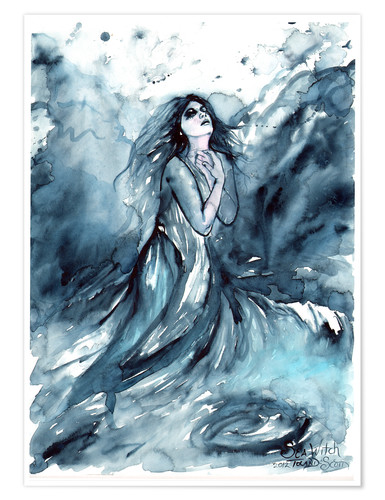 Póster Sea Witch