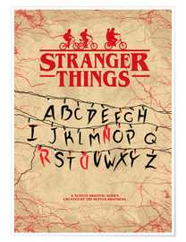 Póster  Stranger Things - HDMI2K