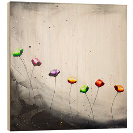 Cuadro de madera  Flowering scape 2 - Yannick Leniger
