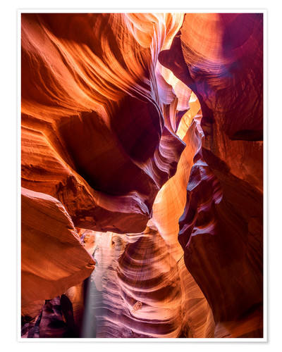Póster Upper Antelope Canyon Navajo Tours 3