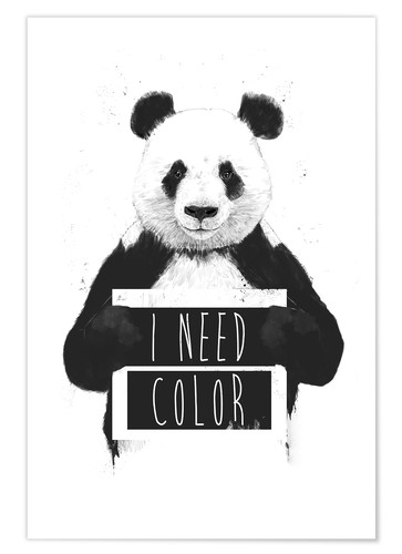 Póster I need color