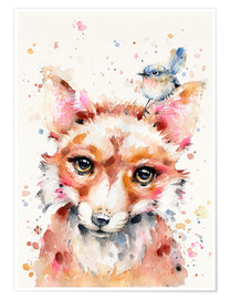 Póster Little Fox