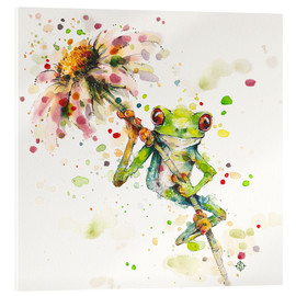 Metacrilato  Hello There Bright Eyes (Green Tree Frog) - Sillier Than Sally