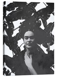 Lienzo  Frida bw - Mandy Reinmuth