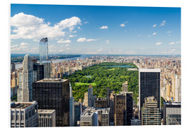 Cuadro de PVC  Central Park in New York City, USA - Jan Christopher Becke