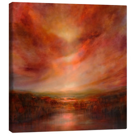 Lienzo  evening glow - Annette Schmucker