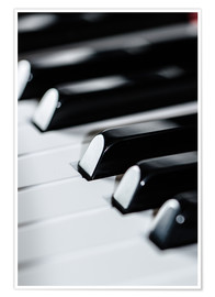 Póster  piano