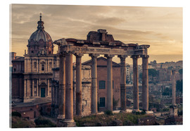 Cuadro de metacrilato  The Roman Forum at sunrise