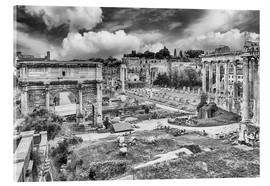 Cuadro de metacrilato  ruins of the Roman Forum in Rome