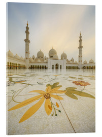 Metacrilato  Courtyard of Sheikh Zayed Grand Mosque