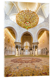 Metacrilato  Gold sheen of the Sheikh Zayed Mosque