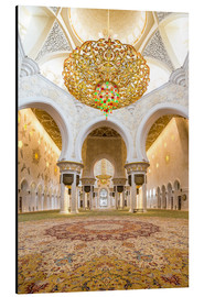 Aluminio-Dibond  Gold sheen of the Sheikh Zayed Mosque