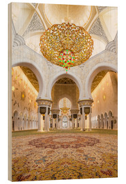 Madera  Gold sheen of the Sheikh Zayed Mosque