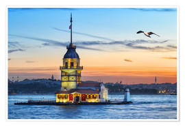Póster  Maiden's Tower on the Bosphorus