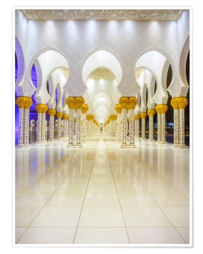Póster Sheikh Zayed Grand Mosque